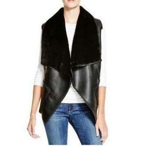 Blank NYC faux fur vest
